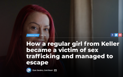 Dallas Morning News: How a regular girl from Keller became a victim of sex trafficking and managed to escape